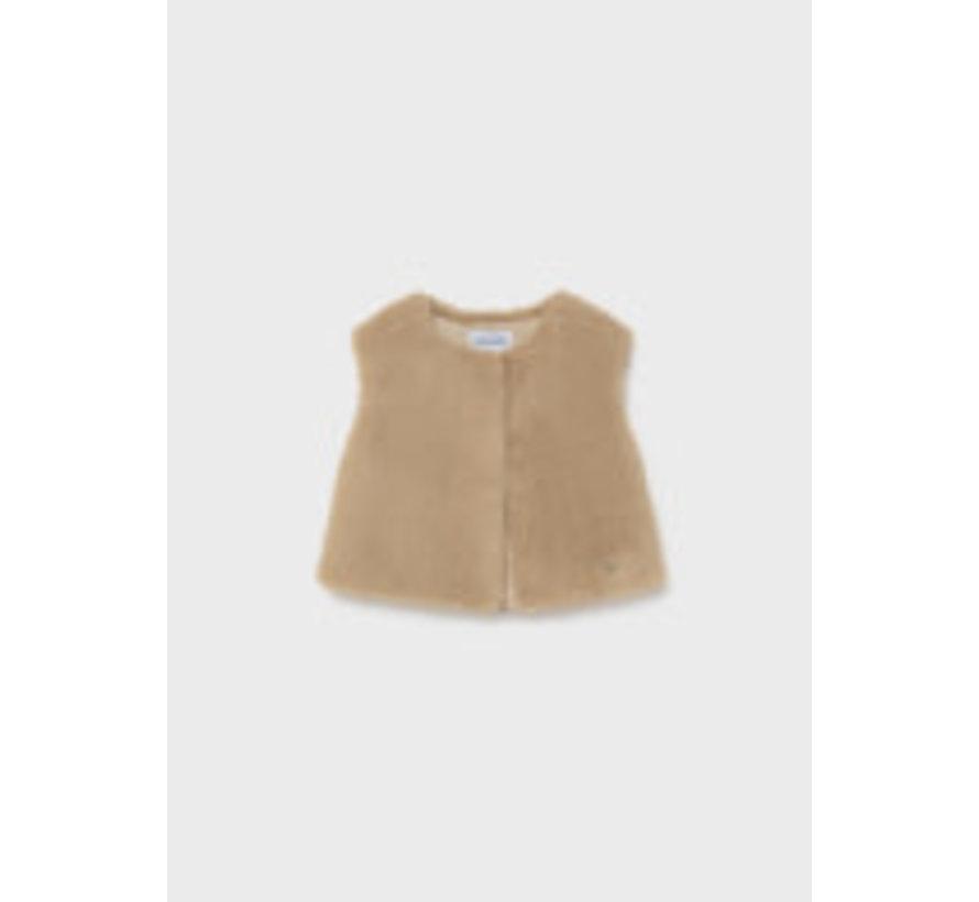 2390 Faux fur vest