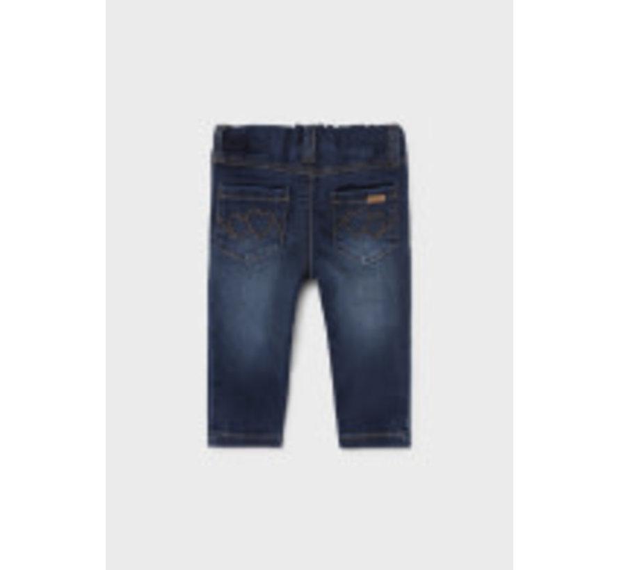 576 Basic denim pants