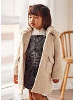 Mayoral 4435 Shearling coat