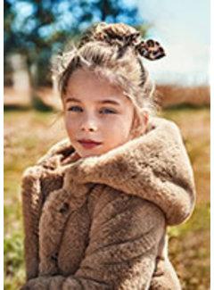 Mayoral 4436 Fur coat