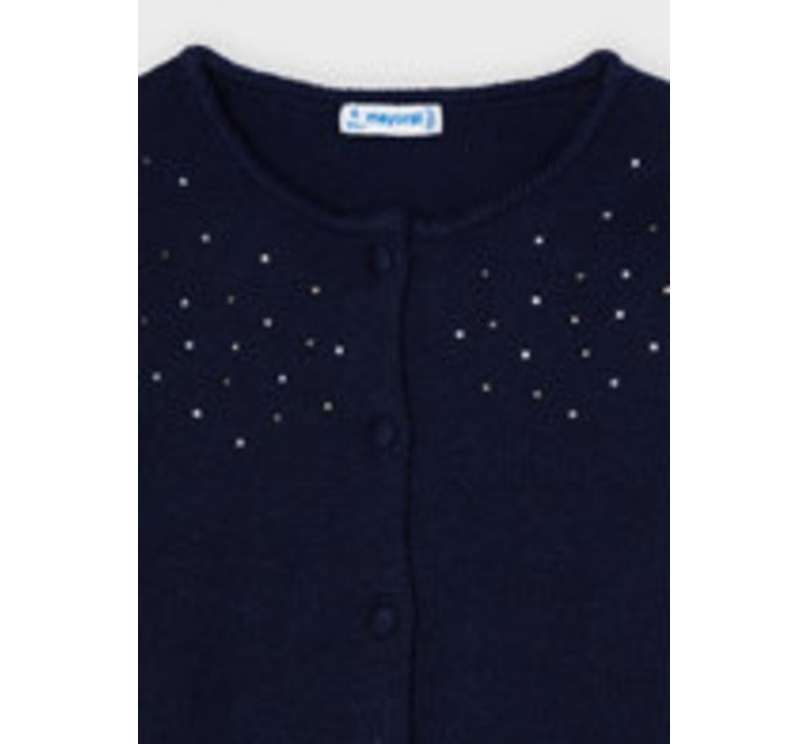 4377 Knit cardigan