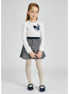 Mayoral 4941 Tweed skirt set