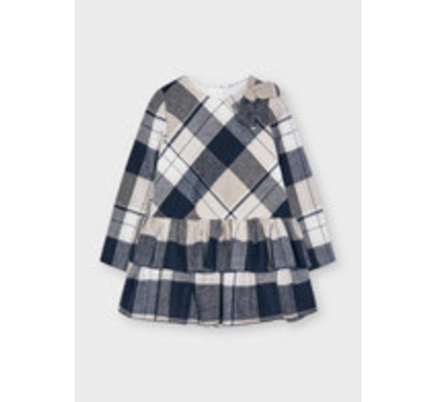 4914 Plaid dress