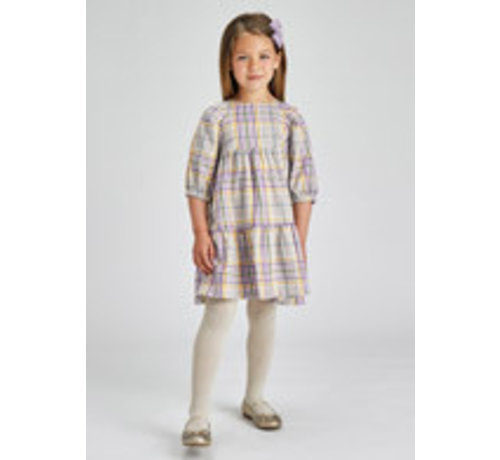 Mayoral 4918 Plaid dress