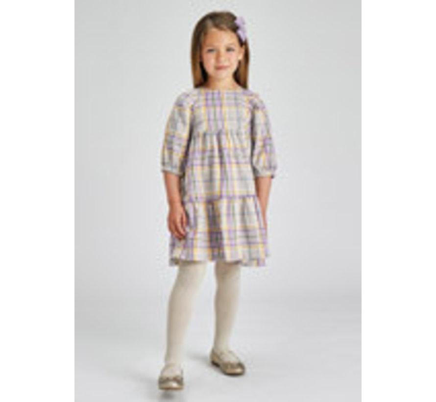 4918 Plaid dress