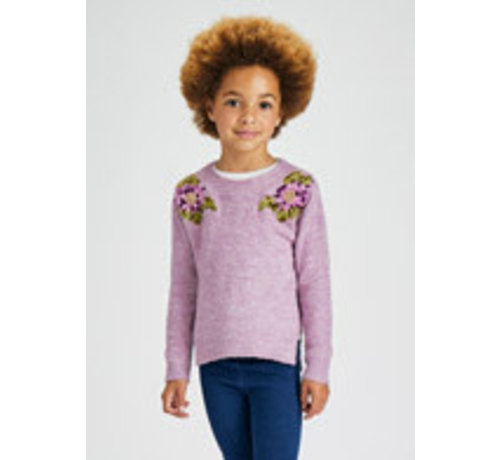 Mayoral 4371 Floral sweater