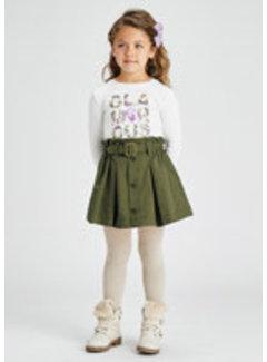 Mayoral 4902 Paper bag skirt