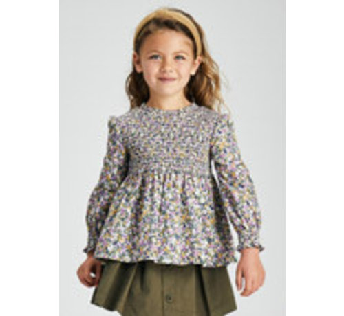 Mayoral 4173 Honeycomb blouse