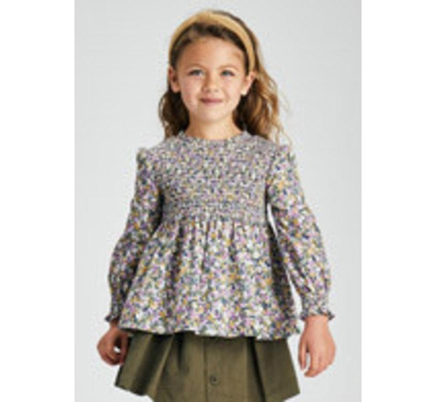 4173 Honeycomb blouse