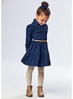 Mayoral 4933 Jean dress
