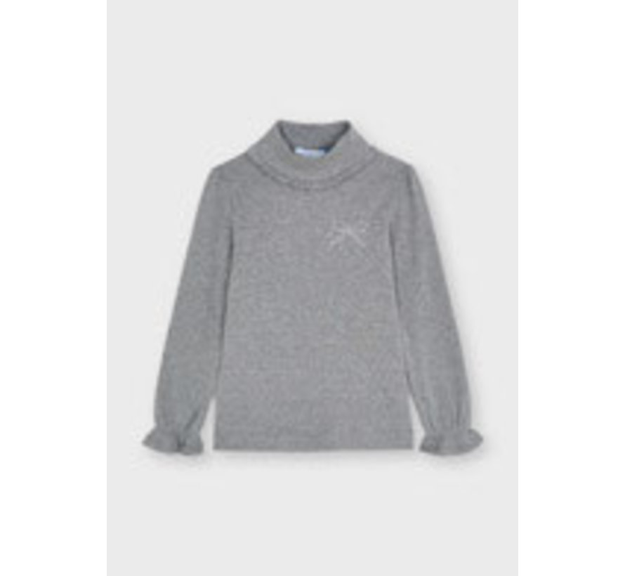 4001 Rib mockneck sweater