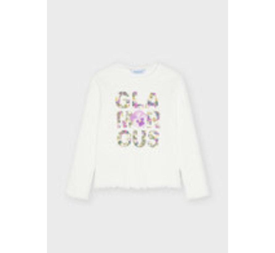 4004 Flower letters l/s t-shirt