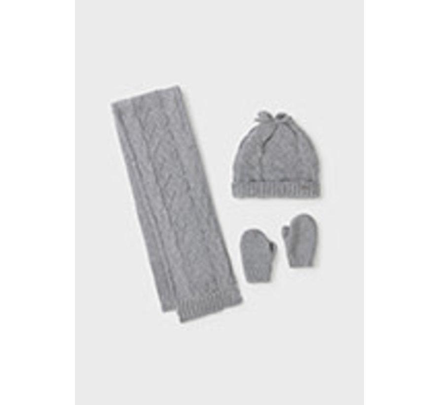 10106 Hat-scarf set