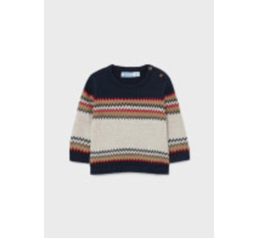 2373 Jacquard sweater