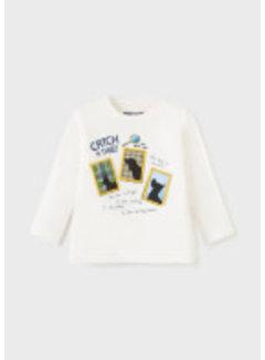 "Mayoral 2069 L-s t-shirt play ""secret"""
