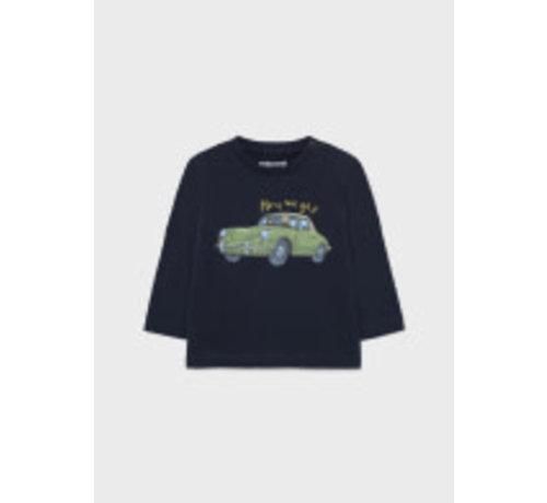 Mayoral 2067 L/s shirt cars