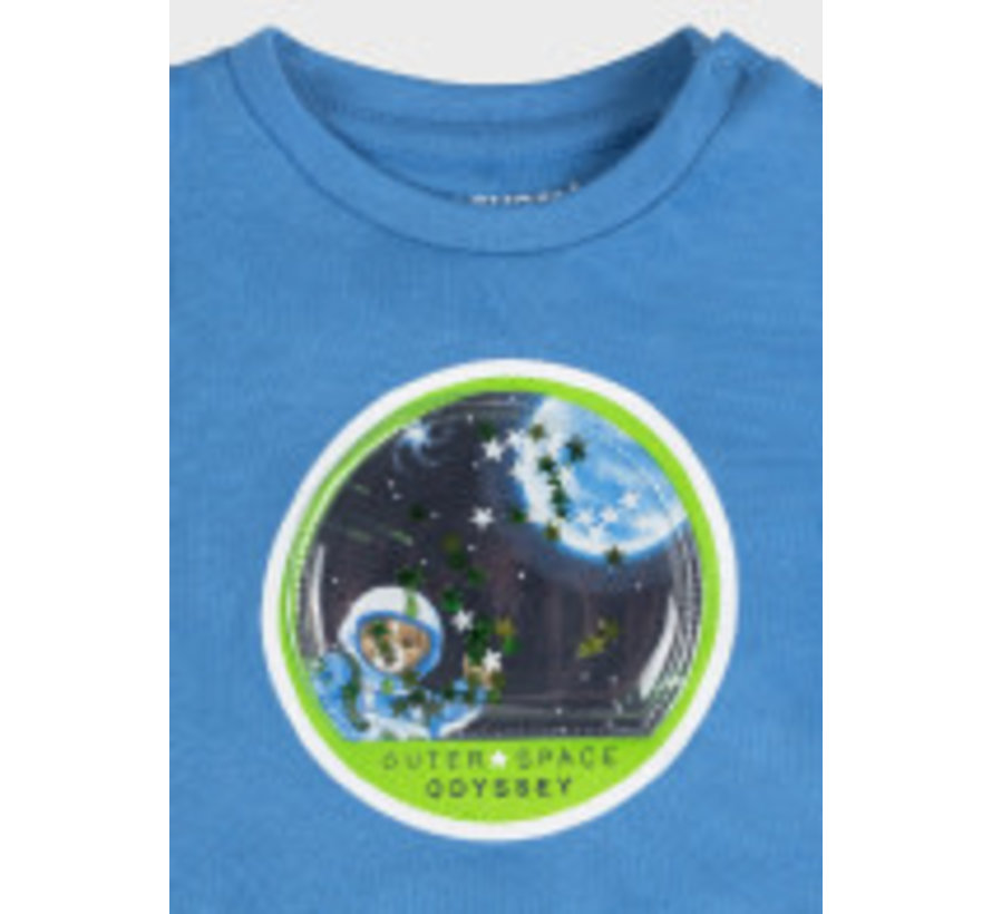 """2077 L/s t-shirt play """"space"""""""
