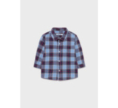 Mayoral 2146 L/s checked shirt