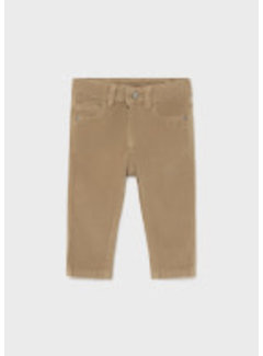 Mayoral 502 Basic slim fit cord trousers