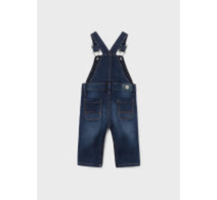 2607 Soft denim overalls