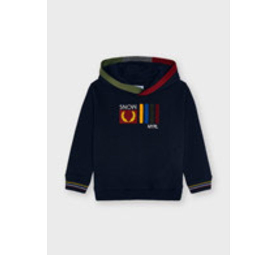 4403 Hooded pullover
