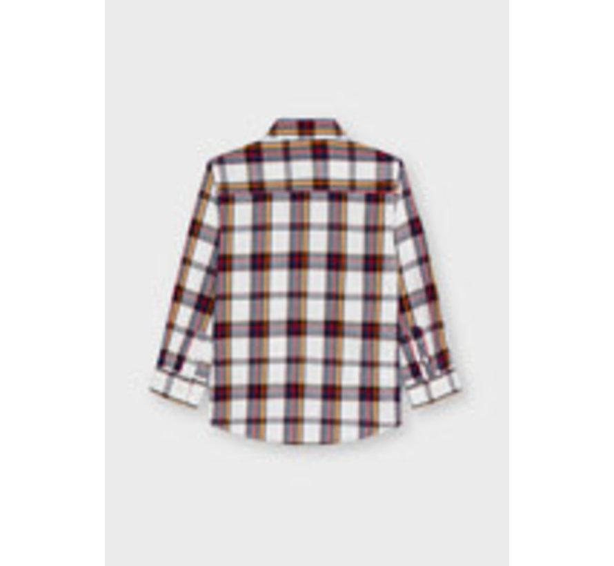 4169 L/s large plaid shirt