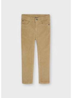 Mayoral 537 Basic slim fit cord trousers