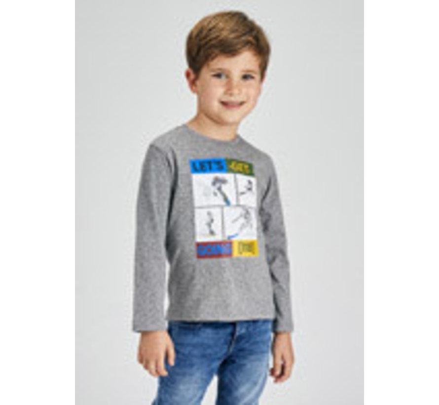 4078 Ski l/s t-shirt