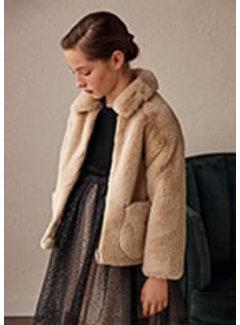 Mayoral 7432 Fur coat