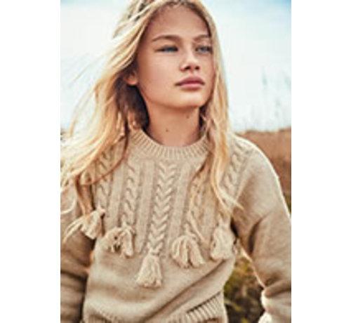 Mayoral 7348 Braided sweater