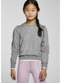 Mayoral 7427 Polka dot fleece pullover