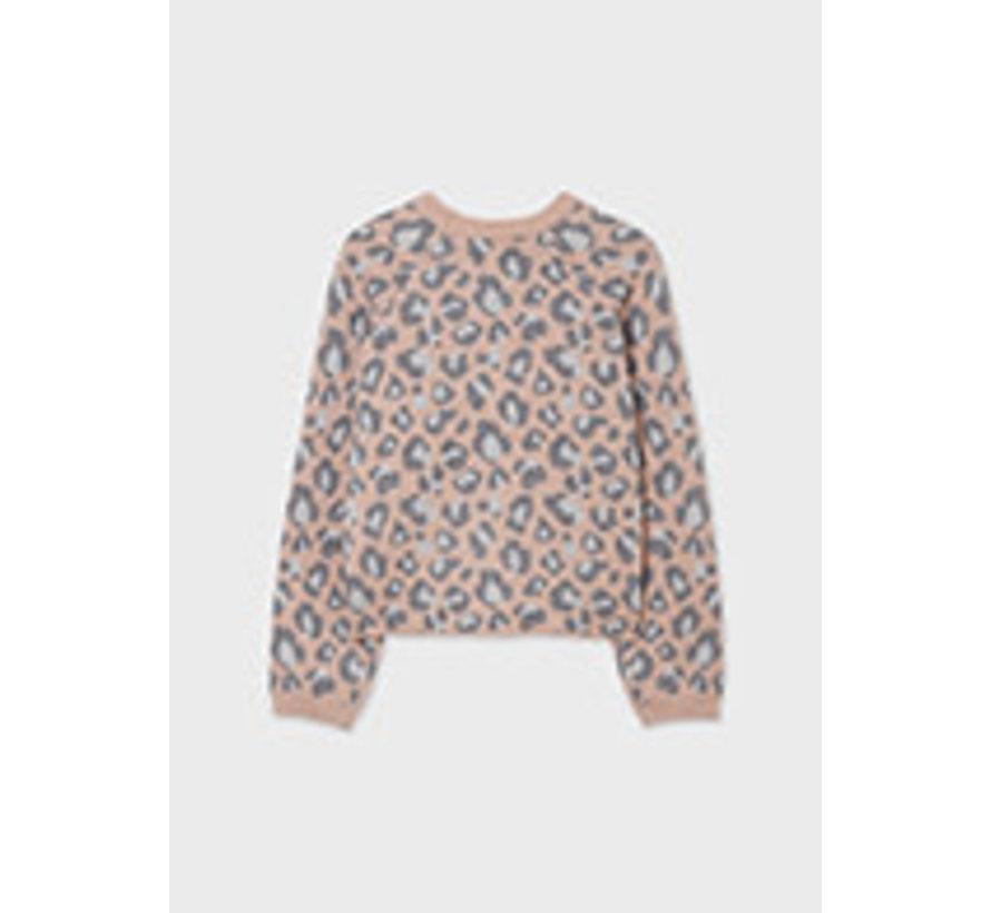 7353 Leopard print sweater