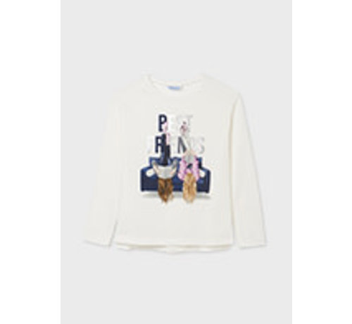 Mayoral 7094 L/s graphic t-shirt