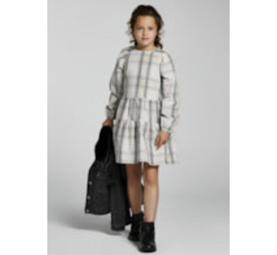 7914 Plaid dress