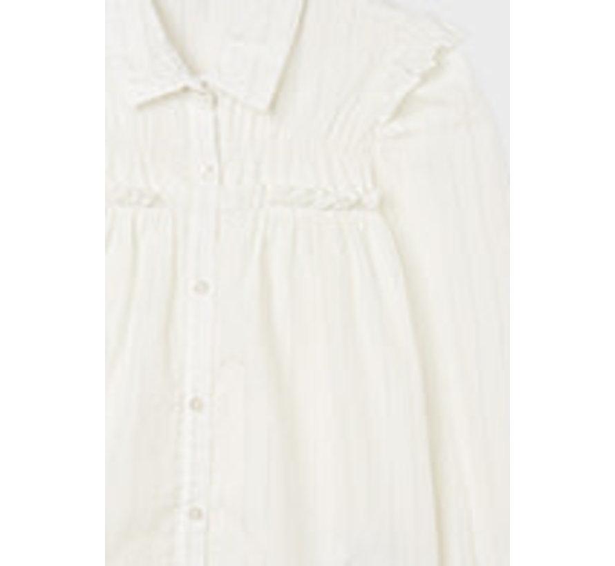 7158 Striped blouse