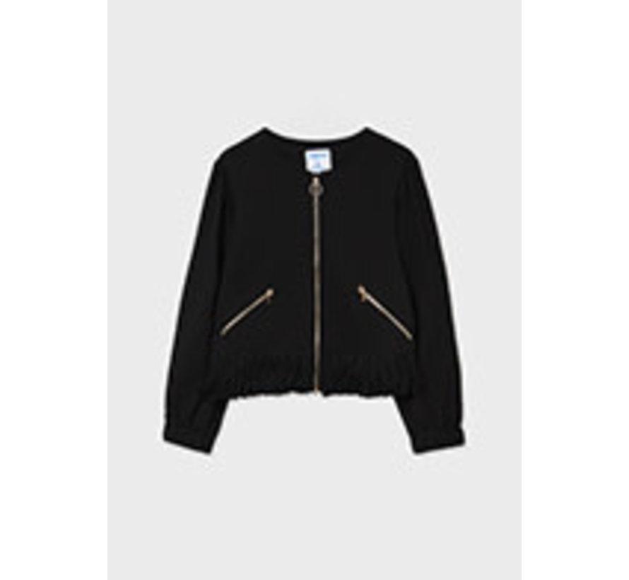 7429 Fringed jacket