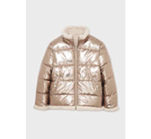 Mayoral 7441 Reversible sheerling coat