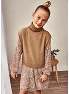 Mayoral 7362 Knitting poncho