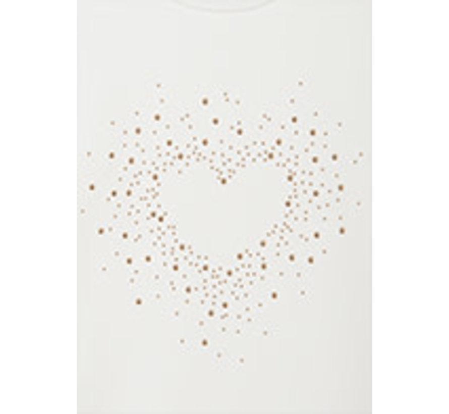 7097 L/s heart t-shirt