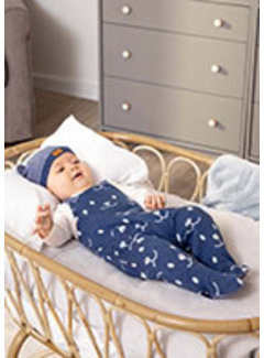 Mayoral 2676 Jacquard onesie with hat
