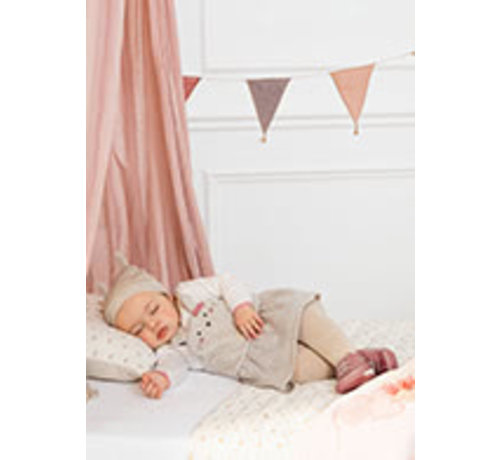 Mayoral 2893 Skirt onesie with hat