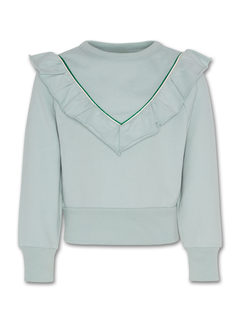 Ao76 221-1203 ruffle sweater