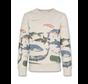 221-2200-05 sweater c-neck sea
