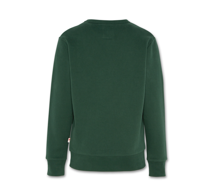 221-2200-09 sweater c-neck wolf