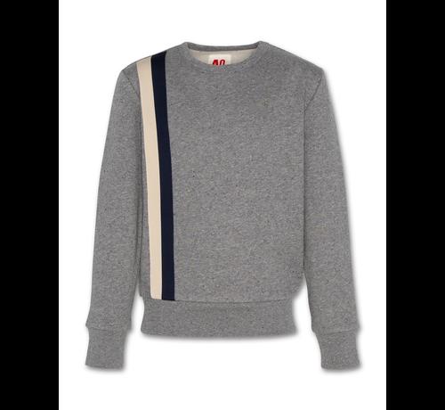 Ao76 221-2231-20 sweater c-neck neps
