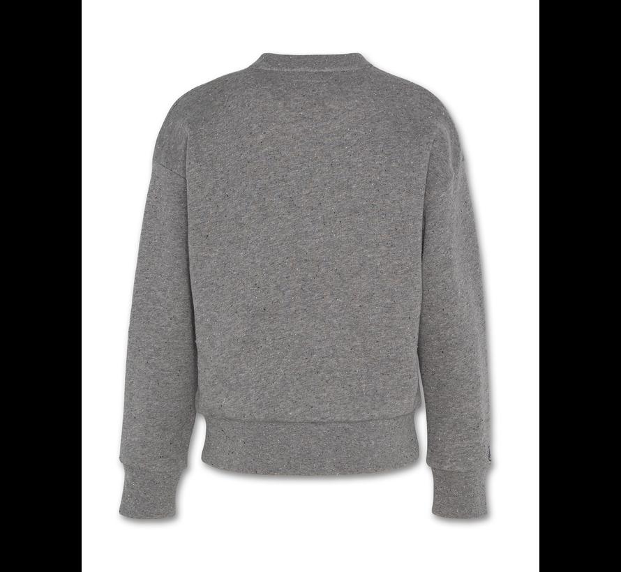 221-2231-20 sweater c-neck neps