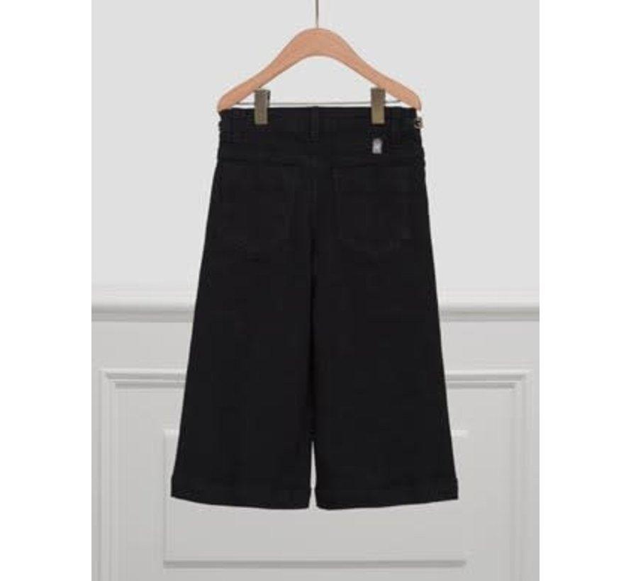 5724 Denim culotte trouser