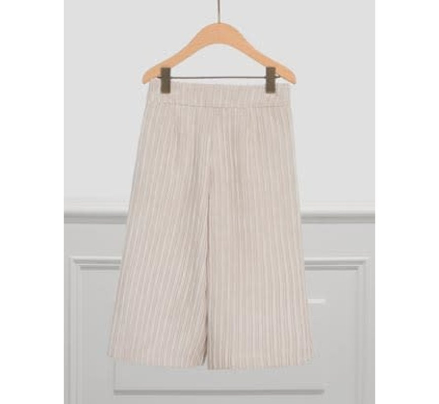 5720 Corduroy culotte trouser