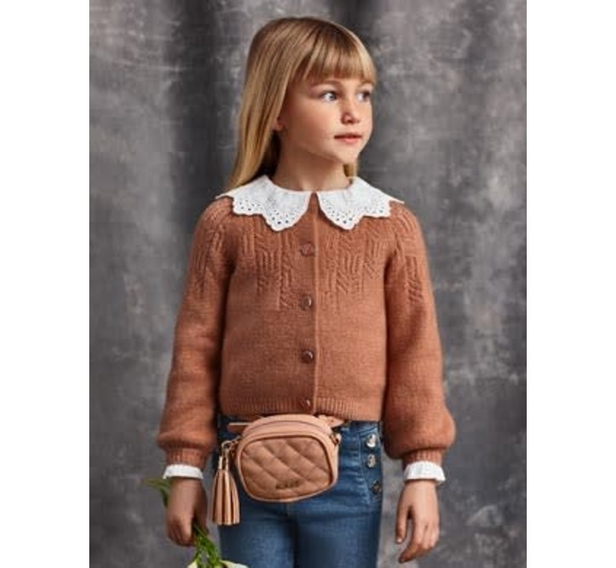 5839 knit cardigan