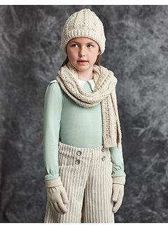 Abel & Lula 5909 Jacquard scarf set